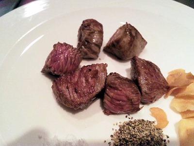 鉄板グリル銀杏/なごみランチの国産牛フィレ