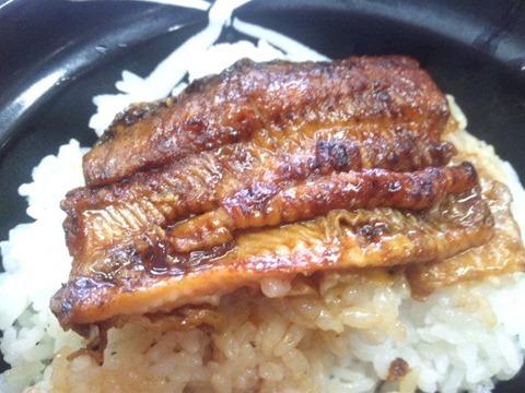 吉野家の鰻丼並盛