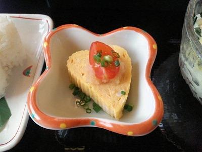 手打ちうどん琴平/週末の気変り定食の玉子焼