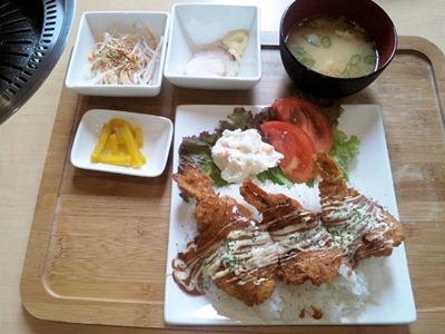 唐々鍋の店/荒井店日替りのえびかつ