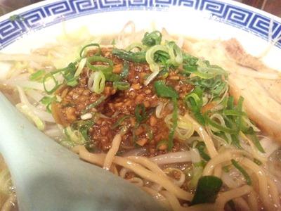 加古川大盛軒元祖角ふじ麺の食べるラー油