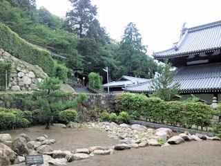 有馬温泉散策_太閤の湯殿館の庭