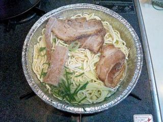 キンレイラーメン横綱冷凍アルミ鍋麺