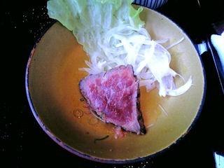 京風点心~里~牛肉のたたき