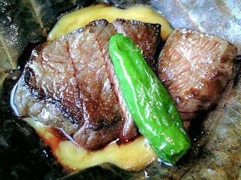 京風点心~里~牛肉西京焼き