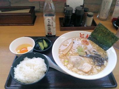 ラーメンとん太とんコク醤油麺Aセット