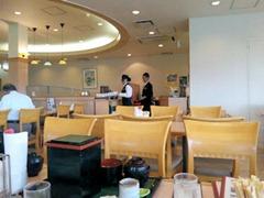 山陽自動車道三木SAレストラン店内