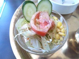 インド・ネパール料理パシュパティ/スシルセットのサラダ