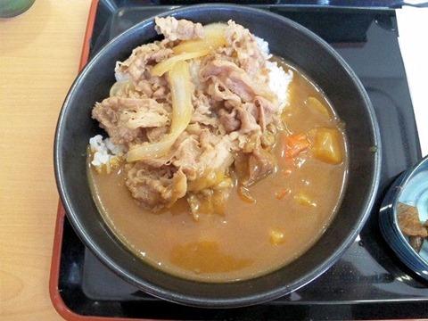 吉野家の牛丼・カレー(コク旨)