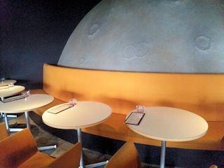 SpaceDining宇宙一/土星コーナー