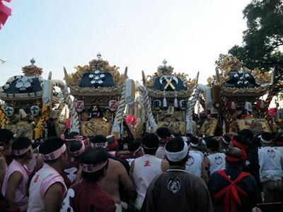 恵美酒宮天満神社秋祭り