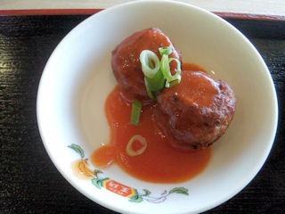 餃子の王将/日替りセットのだんごのチリソース