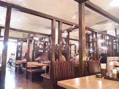 とんかつ・和食・甘味『楽膳』二見店店内