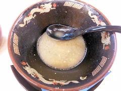 ドカ盛ラーメン丸十ラーメン小野菜増し完食