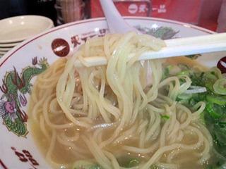 天下一品/加古川店こっさりラーメンの麺