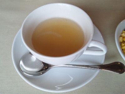 神戸ブランド亭/牛フィレとフォアグラのコンビステーキセットのスープ