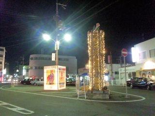 たかさご万灯祭2011駅前お迎え広場のオブジェ