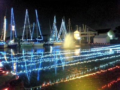 たかさご万灯祭2011堀川水の灯りの会場