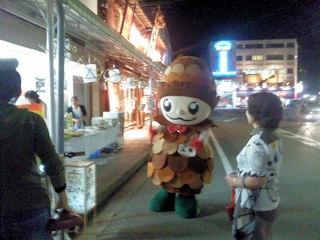 たかさご万灯祭2011駅前ぼっくりくん