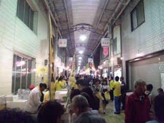 たかさご万灯祭2011銀座商店街