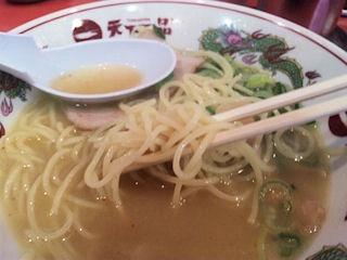 天下一品/加古川店のこっさりラーメンの麺