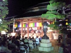 たかさご万灯祭2011十輪寺境内