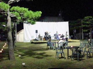 たかさご万灯祭2011カネカジャズ会場