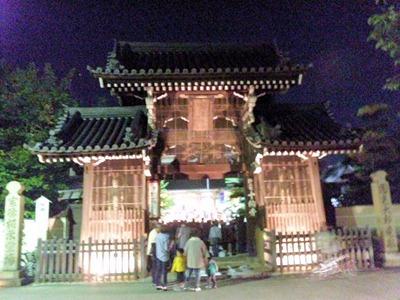 たかさご万灯祭2011十輪寺楼門