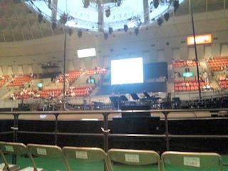 小田和正コンサートツアー神戸ワールド記念ホールアリーナ