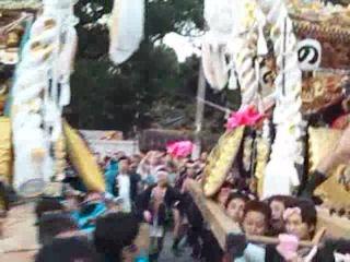 高砂神社秋祭り農人町vs戎町