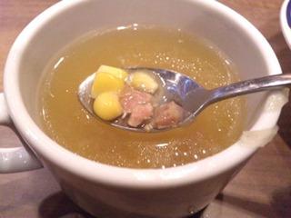 ステーキガストBeef100%ハンバーグのスープ