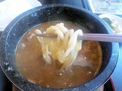 濃厚つけ麺風雲丸/石焼つけ麺の麺