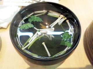 うなぎ料理専門店【魚治】うなぎ丼の吸物