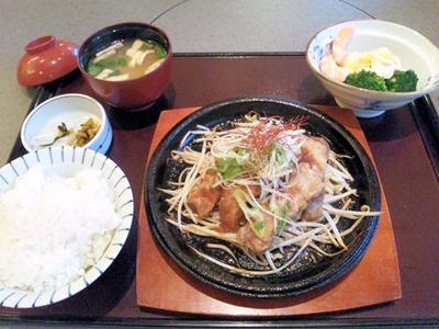 和食・しゃぶしゃぶ かごの屋/日替り昼膳(トンテキ)