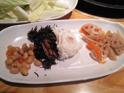 但馬屋イオン加古川店豚しゃぶランチの惣菜