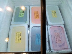 但馬屋イオン加古川店豚しゃぶランチのアイスクリームコーナー