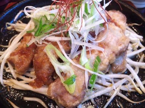 和食・しゃぶしゃぶ かごの屋/日替り昼膳のトンテキ2
