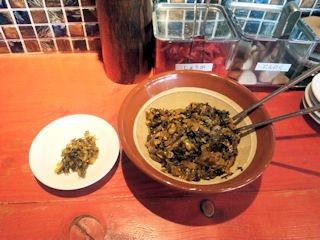 ラー麺ずんどう屋/太子店食べ放題の高菜