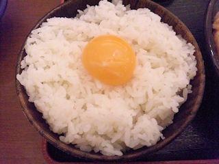 まんぷく処 どんぶり勘定/砥堀店のたまごかけご飯