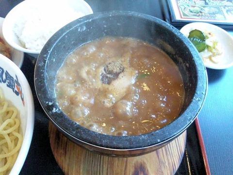 濃厚つけ麺風雲丸/石焼つけ麺のつけだれ