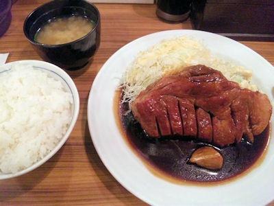 大阪トンテキ/トンテキ定食