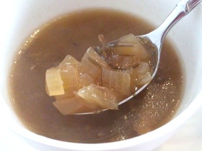 欧風カレー小夢スープの具