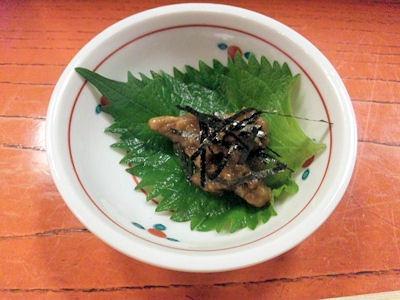 かき幸/かきの山葵味噌和