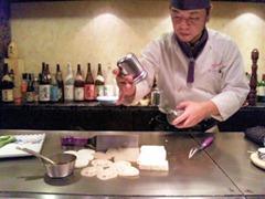 ステーキ工房小粋多門コース野菜焼き