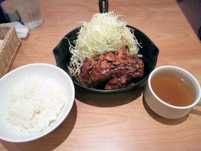東京トンテキ/トンテキ定食