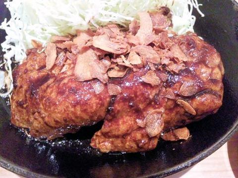 東京トンテキ/トンテキ定食のトンテキ