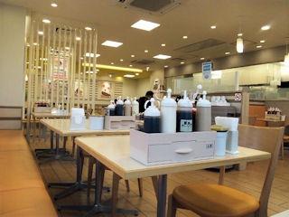 松屋/播磨町店の店内