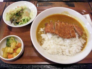 般゜若パンニャ/大阪福島店のカツカレー