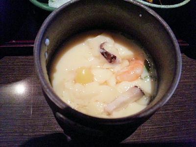 ごちそう村/鍋めぐり御膳(牛もつ鍋)の茶碗蒸し