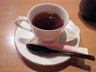 酒宴よし乃食後のコーヒー
